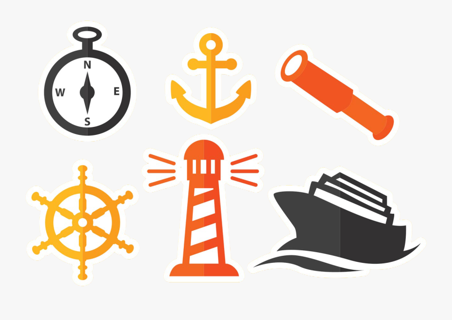 Image Free Download Royalty Free Clipart Icon - Nautical Symbols, Transparent Clipart