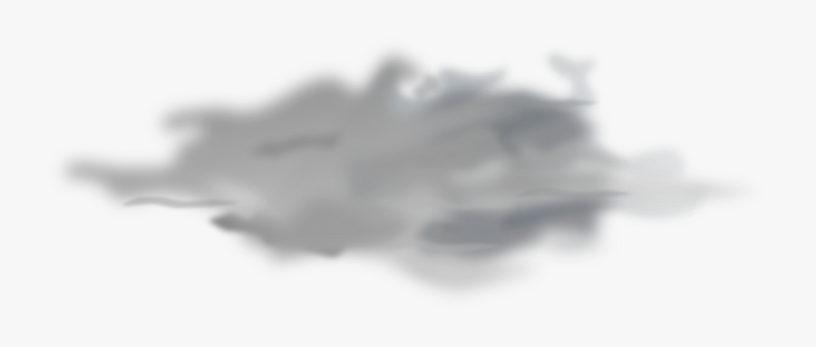 Clipart - Snow Clouds Transparent Background, Transparent Clipart