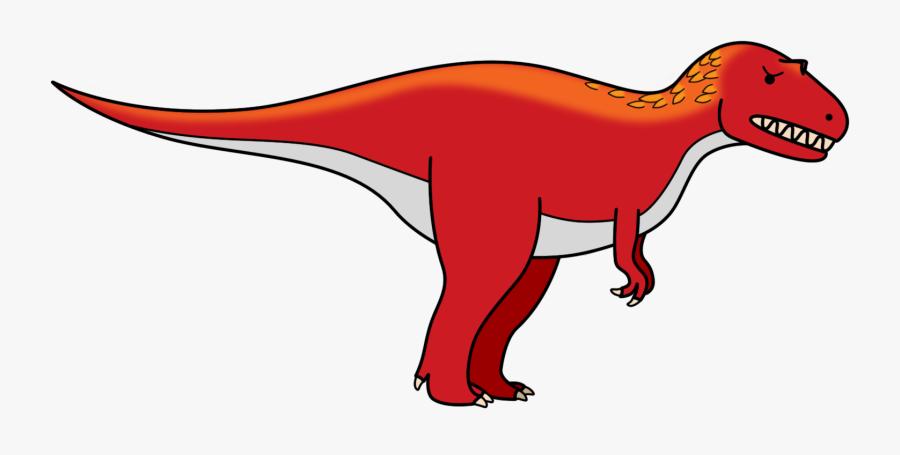 Transparent Dinosaur Cartoon Png - Carnivore Dinosaur Clip Art, Transparent Clipart