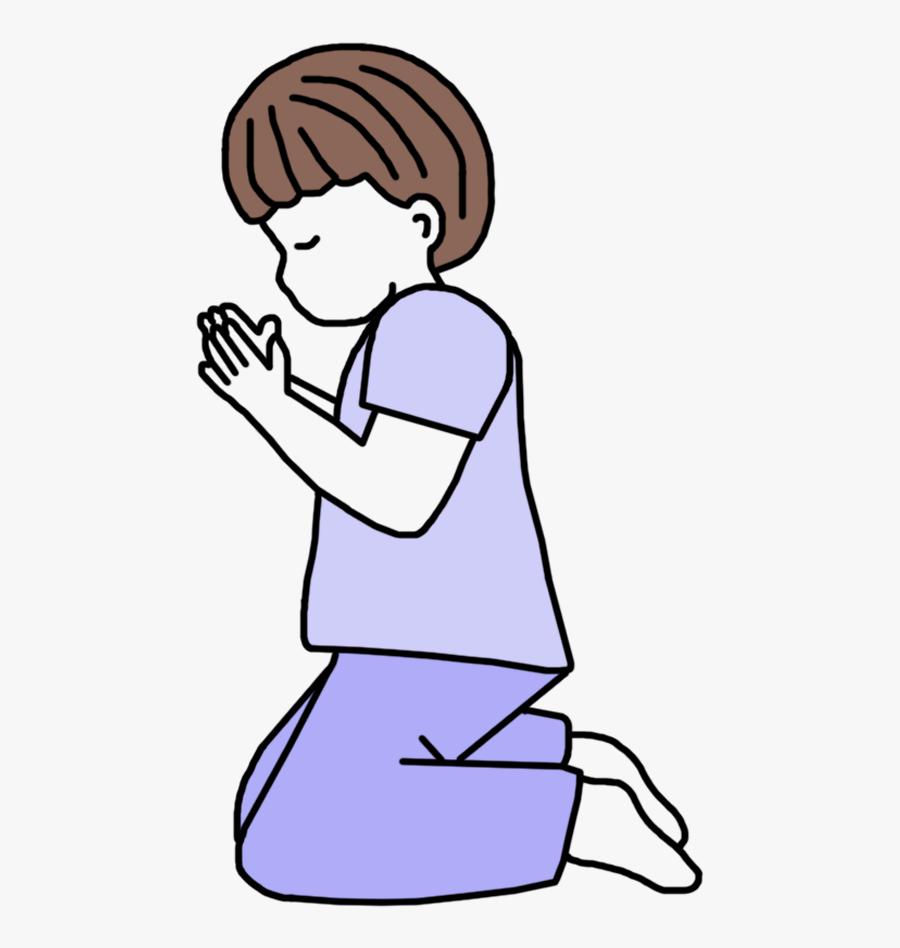 Clip Art Clip Art Black - Praying Hands Clipart Woman, Transparent Clipart