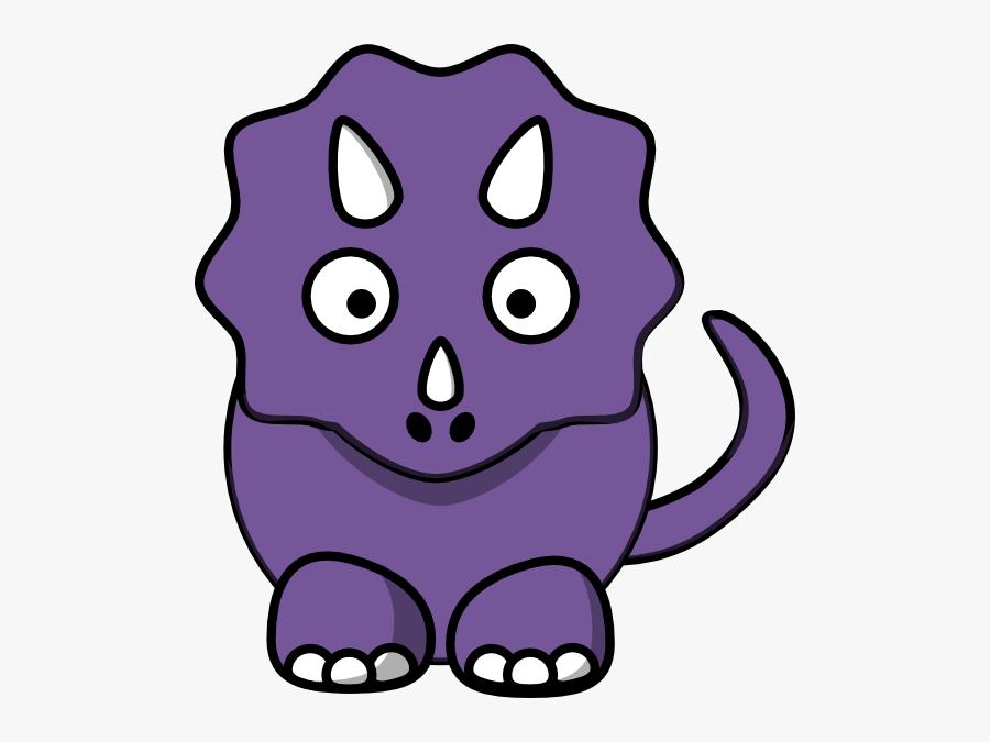 Purple Dinosaur Clipart - Purple Dinosaur Clip Art, Transparent Clipart