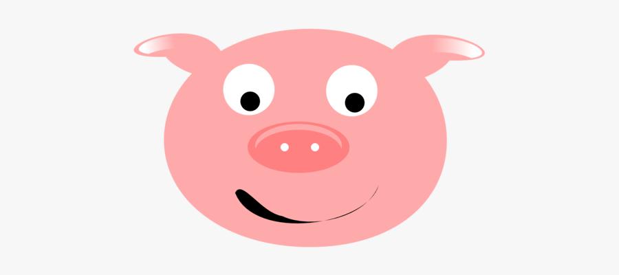 Pig Face Download Pig Clip Art Free Cute Clipart Of - หน้า หมู การ์ตูน น่า รัก ๆ, Transparent Clipart