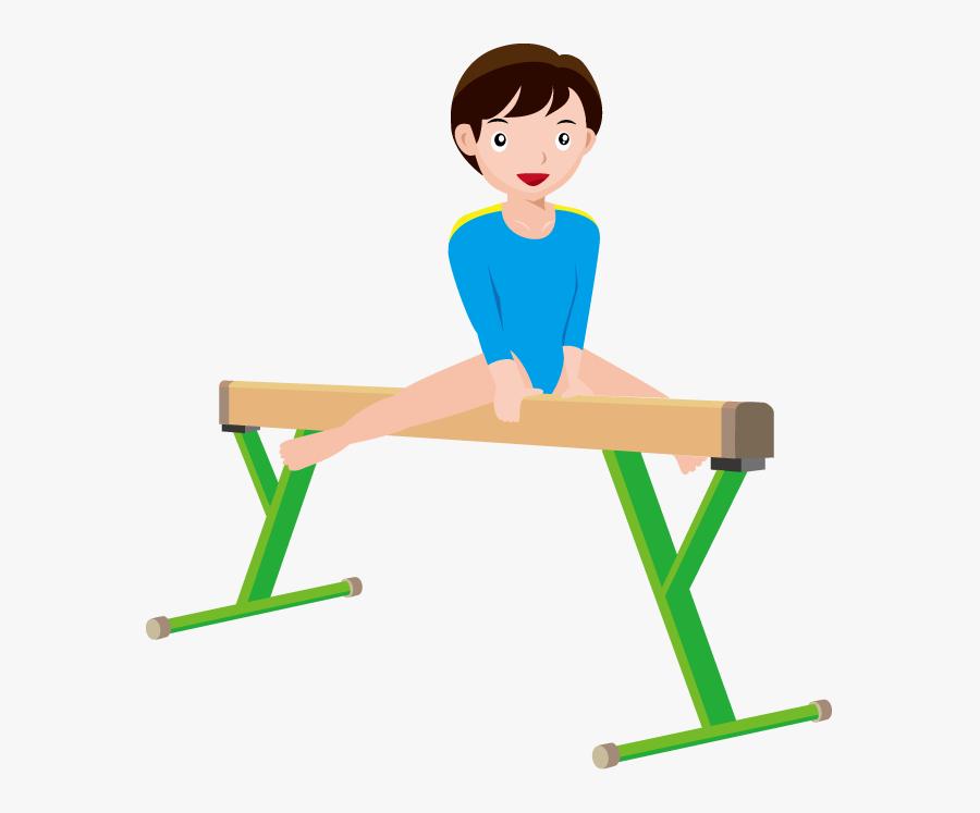 Gymnast Clip Art - Clipart Of Gymnastics, Transparent Clipart