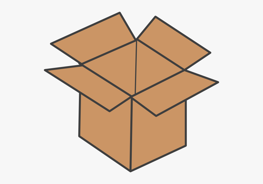 Brown Box Clip Art - Rubiks Cube White Cross, Transparent Clipart