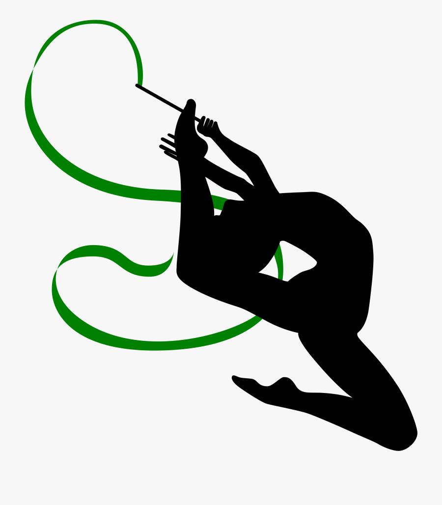 Gymnastics Clipart Silhouette Vault Cliparts And Others - Rhythmic Gymnastics Clip Art, Transparent Clipart