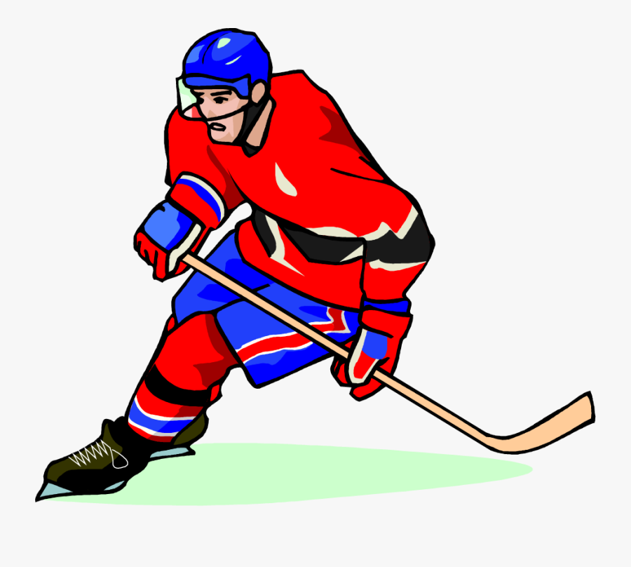 Free Hockey Player Vector Art Clip Art Image From Free - Hockey Clip Art Free, Transparent Clipart