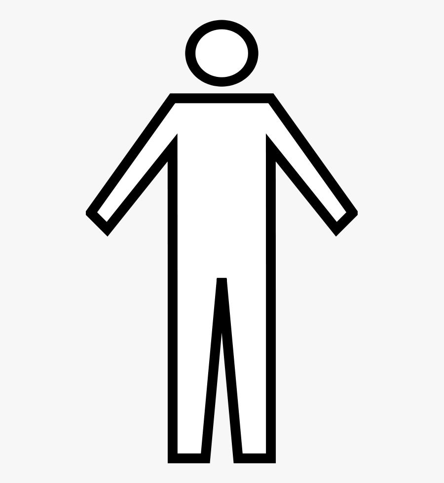 Clip Art Free Clipart Man - Person Black And White Clipart, Transparent Clipart