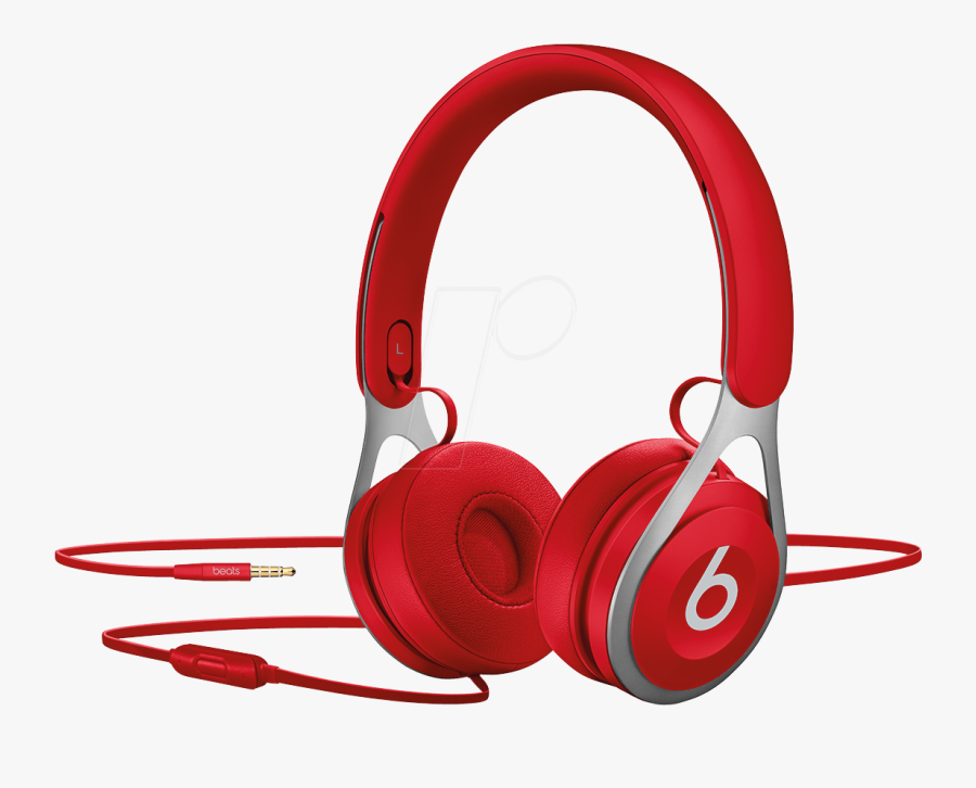 Headphones Clipart Coloring Page - Beats By Dre Red ...