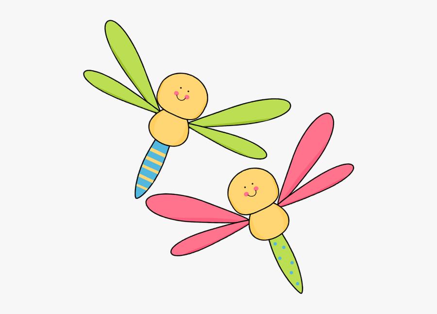 Clipart Dragonfly - Two Dragonflies Clip Art, Transparent Clipart