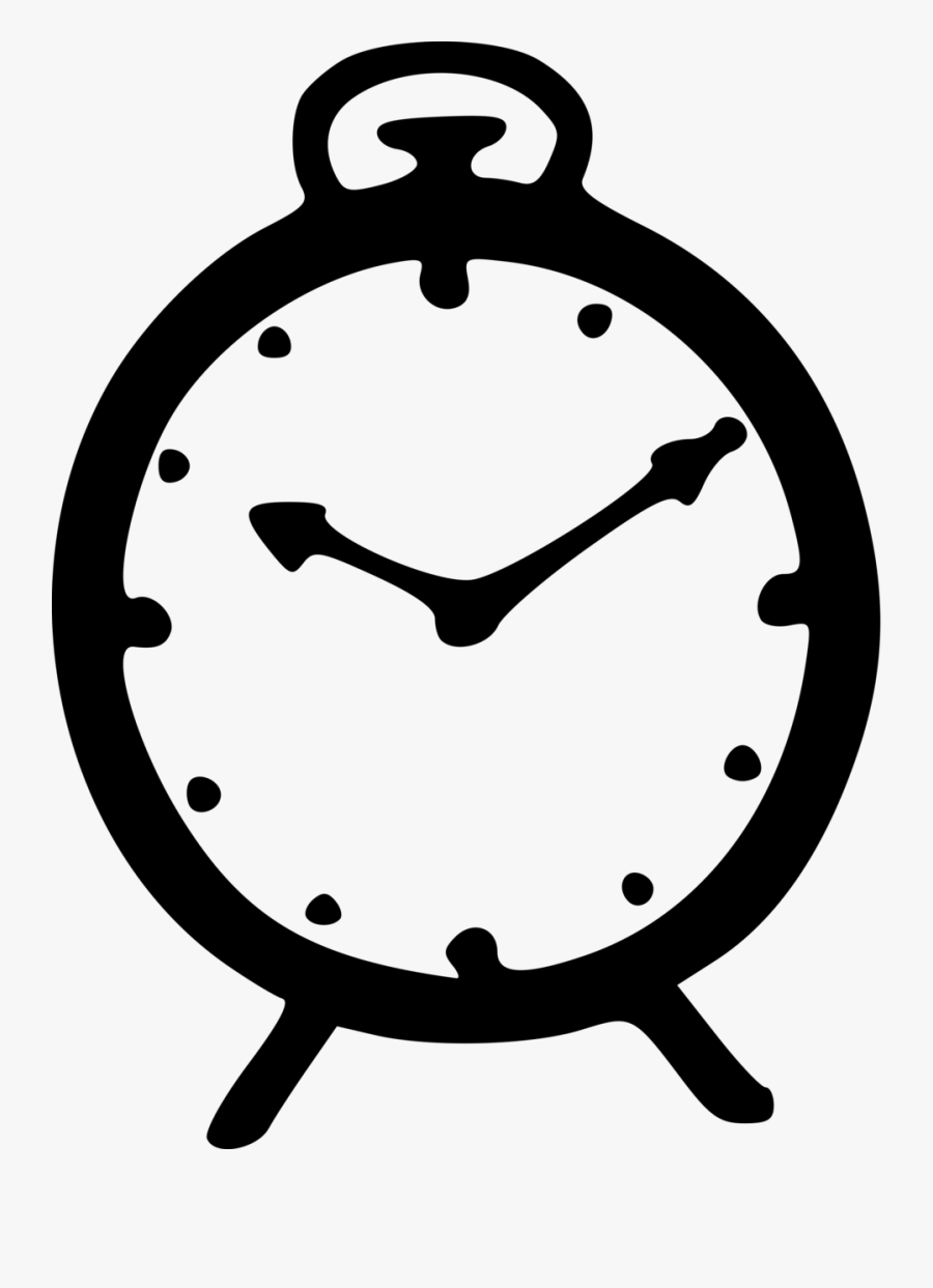 Clocks Clipart Black And White - Nationalist Congress Party Symbol, Transparent Clipart
