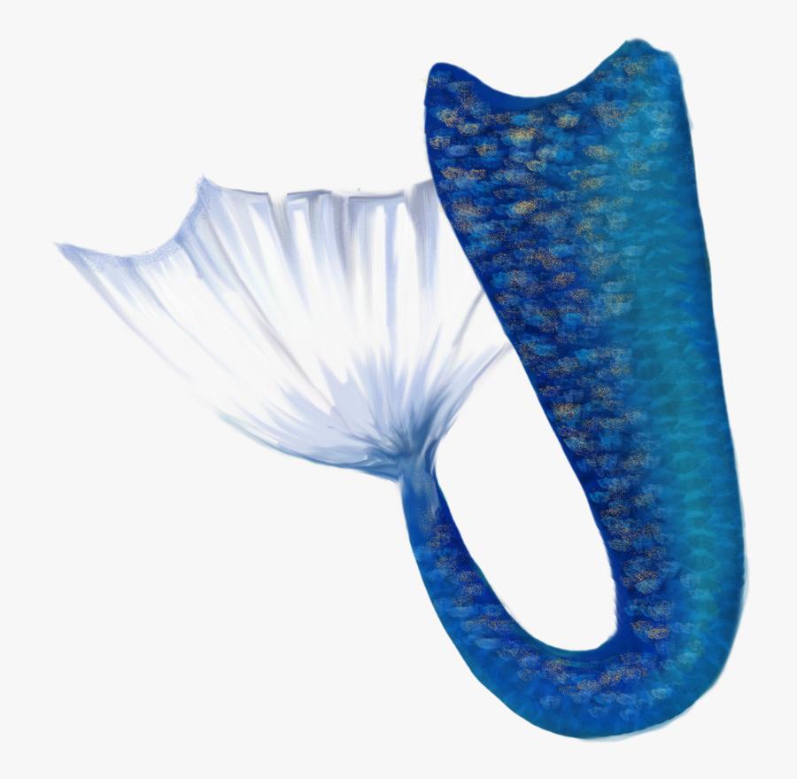 Transparent Mermaid Life Clipart - Blue Mermaid Tail Png, Transparent Clipart