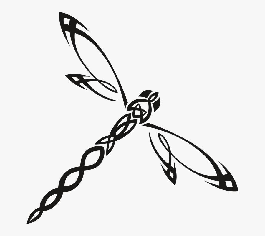 Clip Art Dragonfly, Transparent Clipart