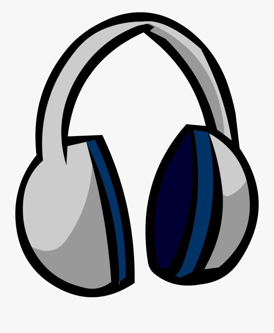 Headphones Club Penguin Wiki Fandom Powered Wikia - Club Penguin Headphones, Transparent Clipart