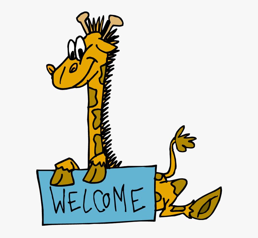 Transparent Cartoon Sign Png - Youre Welcome Clip Art, Transparent Clipart