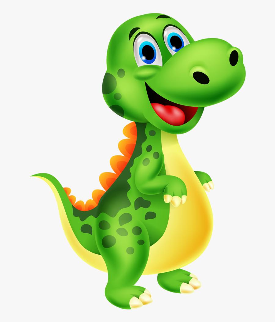 Clip Art Dinosaur Cartoons - Dinosaur Clipart Png, Transparent Clipart