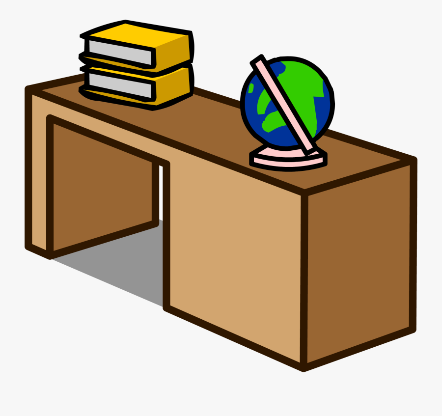 Transparent Student Clip Art - Office Desk Clip Art, Transparent Clipart