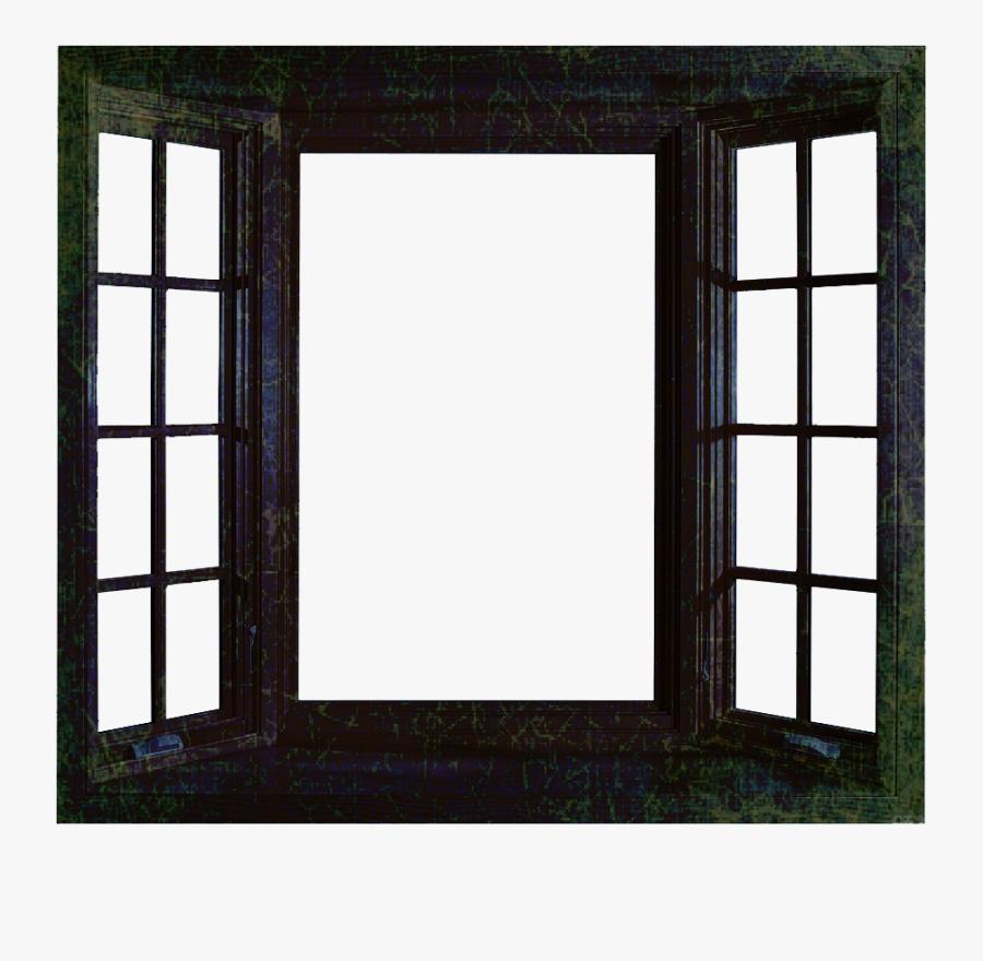 Open House Window Clipart - Transparent Background Window Clipart, Transparent Clipart