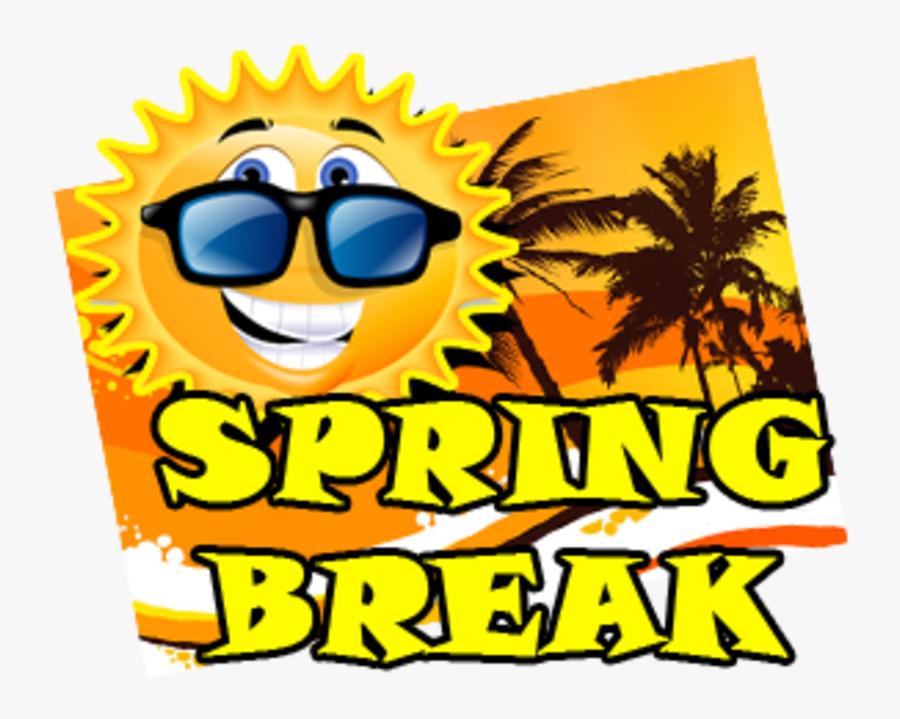 Clip Art Spring Break - Spring Break School Out, Transparent Clipart