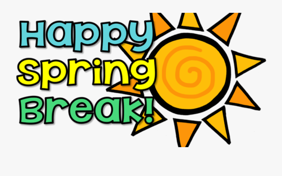 March 19 - March 23 - « - Black And White Spring Break - Happy Spring Break Clipart, Transparent Clipart