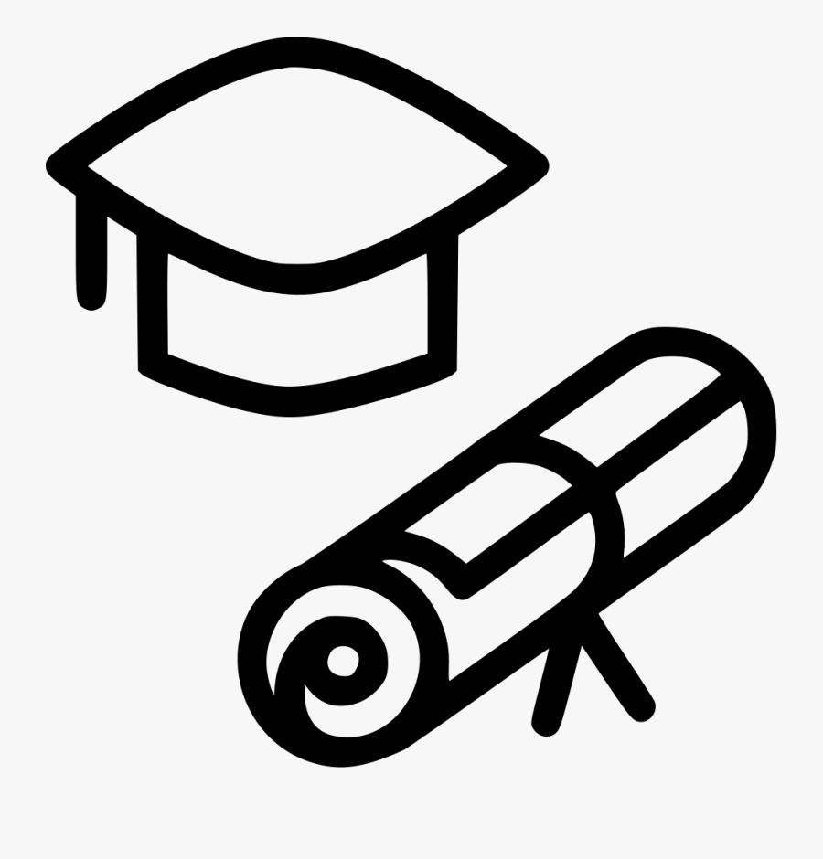Transparent College Clipart - College Degree Svg, Transparent Clipart