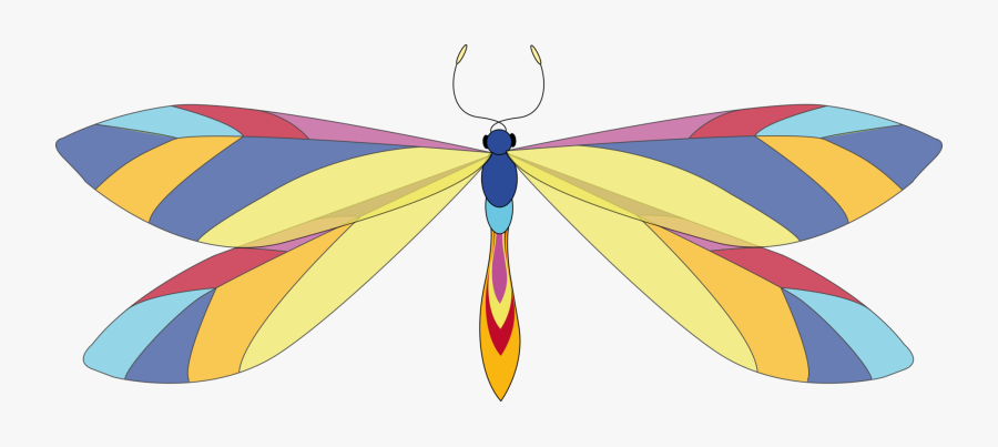 Free Clip Art Dragonfly, Transparent Clipart