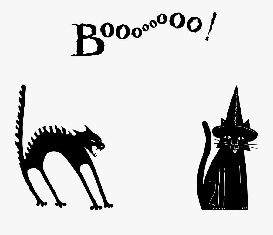 Black Cat, Transparent Clipart