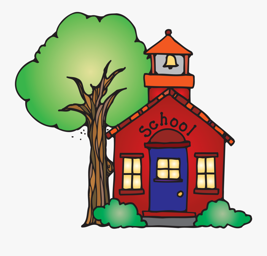 No School Clipart Collection Image Free Download - School House, Transparent Clipart