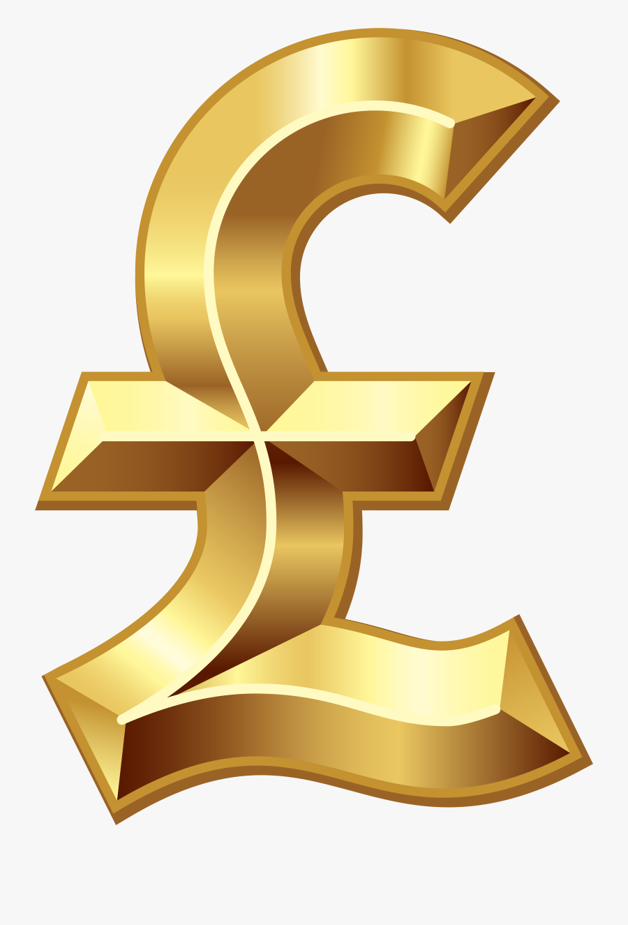 Pound Sterling Dollar Sign Pound Sign Currency Symbol - Pound Sterling Png, Transparent Clipart