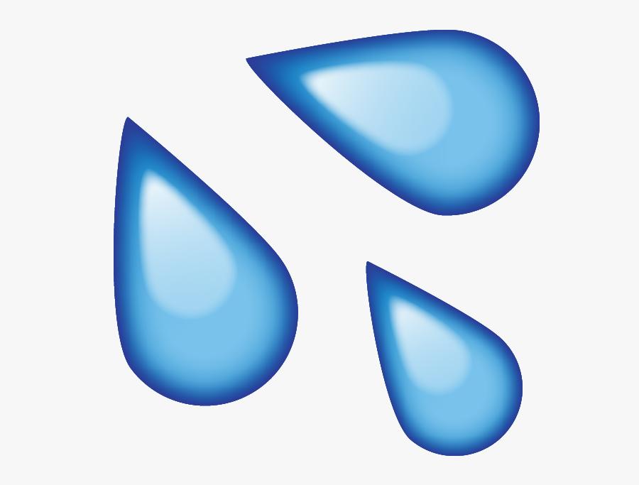 Transparent Water Clip Art - Water Emoji Png, Transparent Clipart