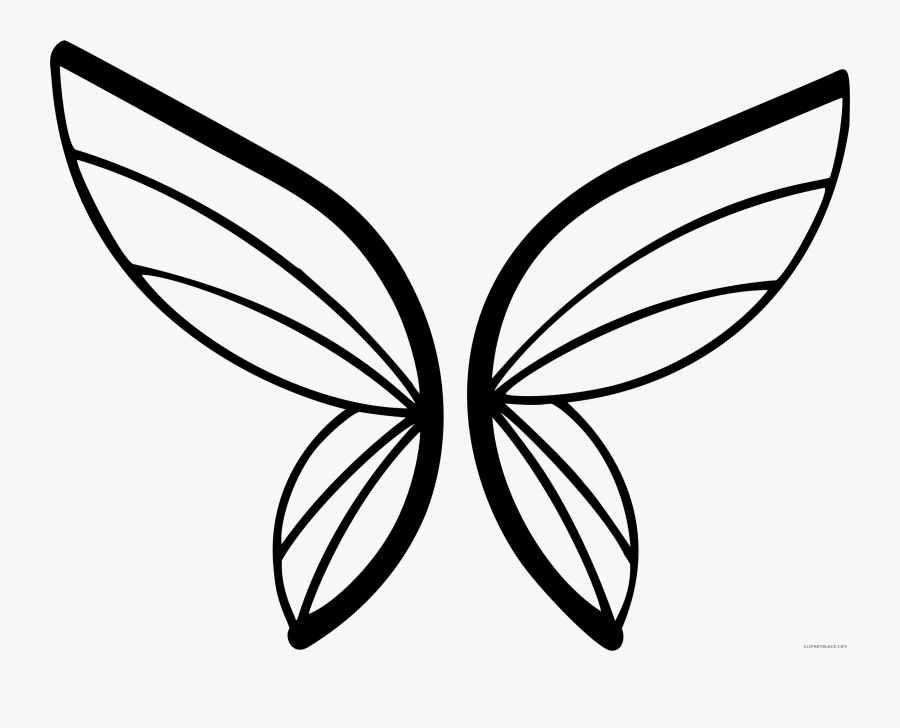 Butterfly Animal Free Black - Butterfly Abstract, Transparent Clipart