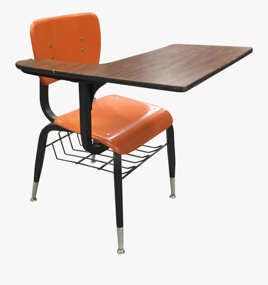 Chair Clipart School Desk Chair - School Desk Transparent Background, Transparent Clipart