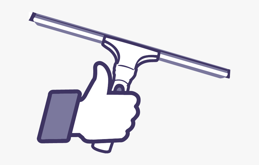 Bozeman Window Cleaning - Facebook Thumbs Up, Transparent Clipart