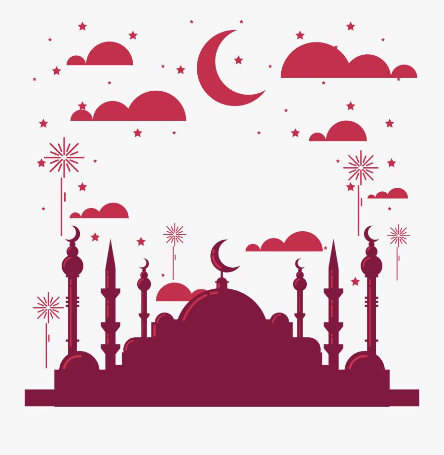 Surabaya Church Islamic Year Festivals Red Wine Clipart - Islamic New Year Png, Transparent Clipart