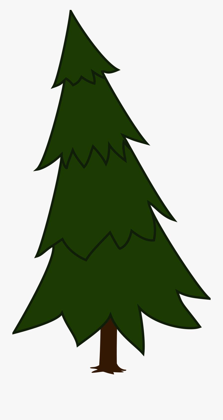 Pine Tree Svg Clipart - Tree Clipart Pine, Transparent Clipart