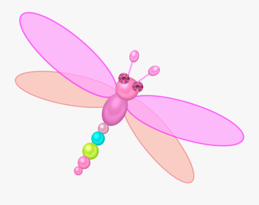 Png Cliparts And Peacock - Dragon Fly Cartoon Png Transparent, Transparent Clipart