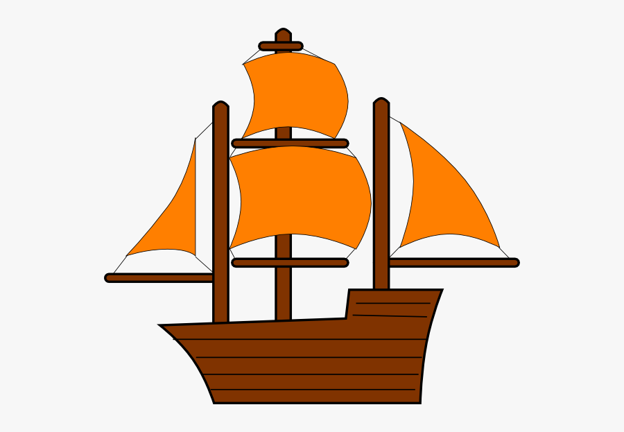 Transparent Boat Clipart Png - Pirate Ship Clipart, Transparent Clipart