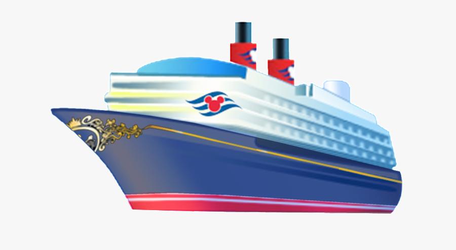 Cruise Ship Clipart Kid - Disney Cruise Ship Drawing, Transparent Clipart