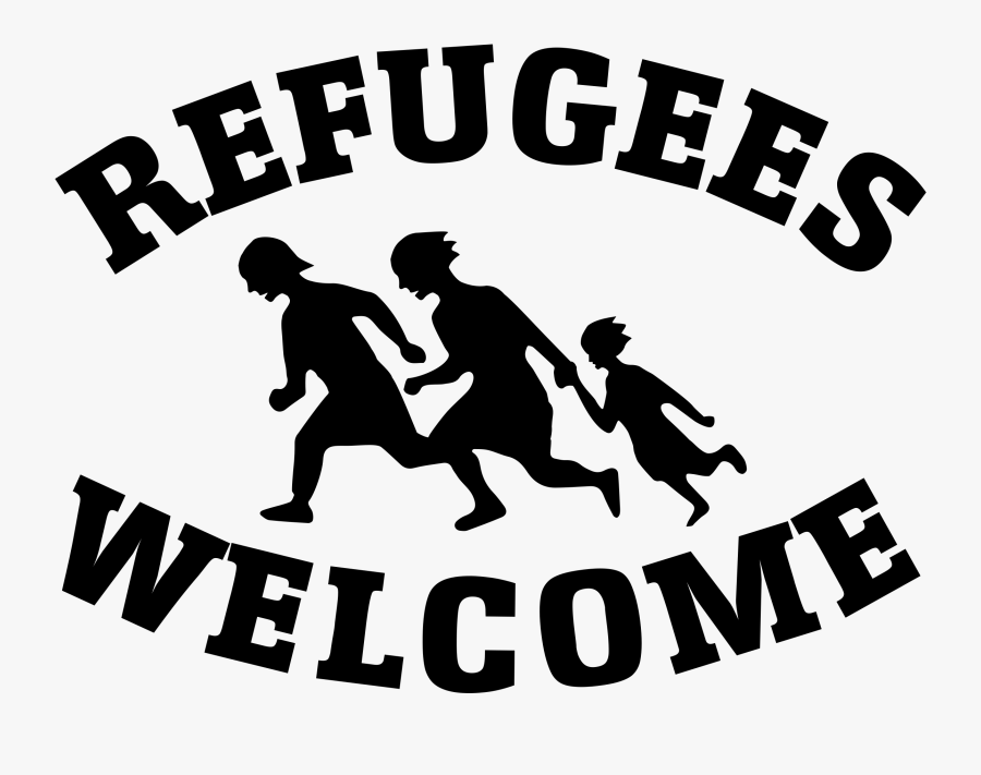 Refugees Welcome - Refugees Welcome Png, Transparent Clipart