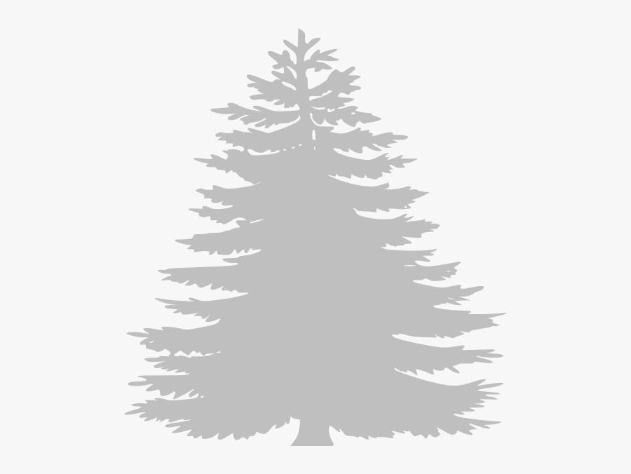White Pine Tree Clip Art, Transparent Clipart