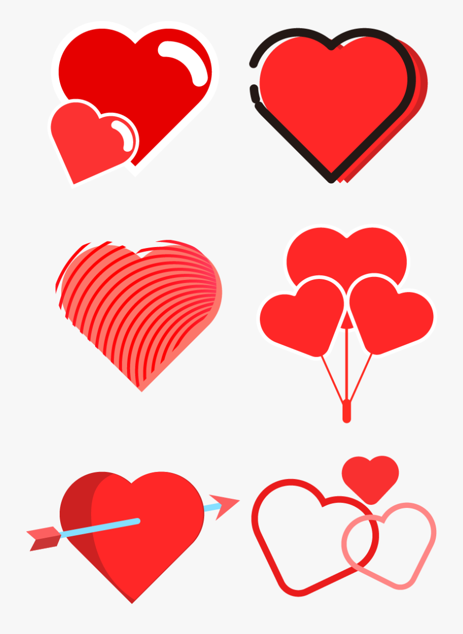"Transparent Valentine""s Day Clip Art - Heart, Transparent Clipart"