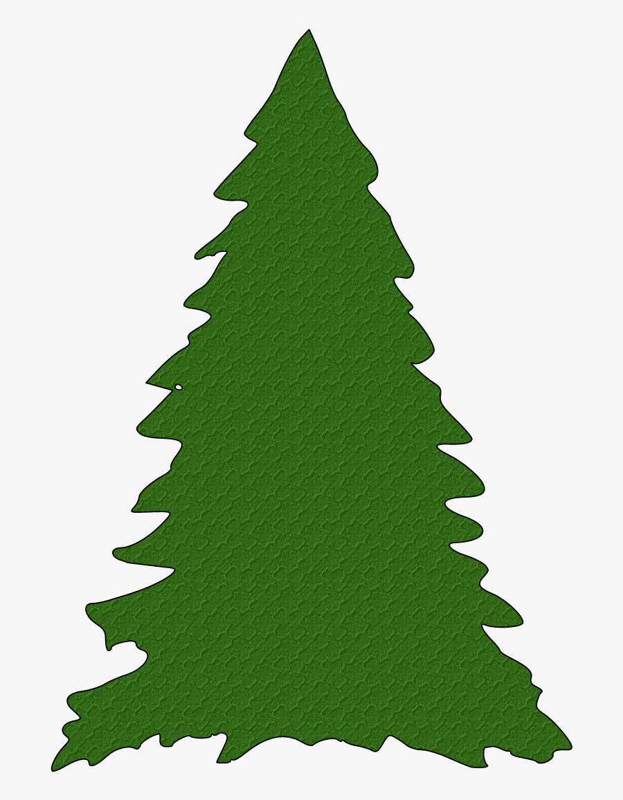 Tree Clipart Silhouette At Getdrawings - Christmas Tree Svg Free, Transparent Clipart