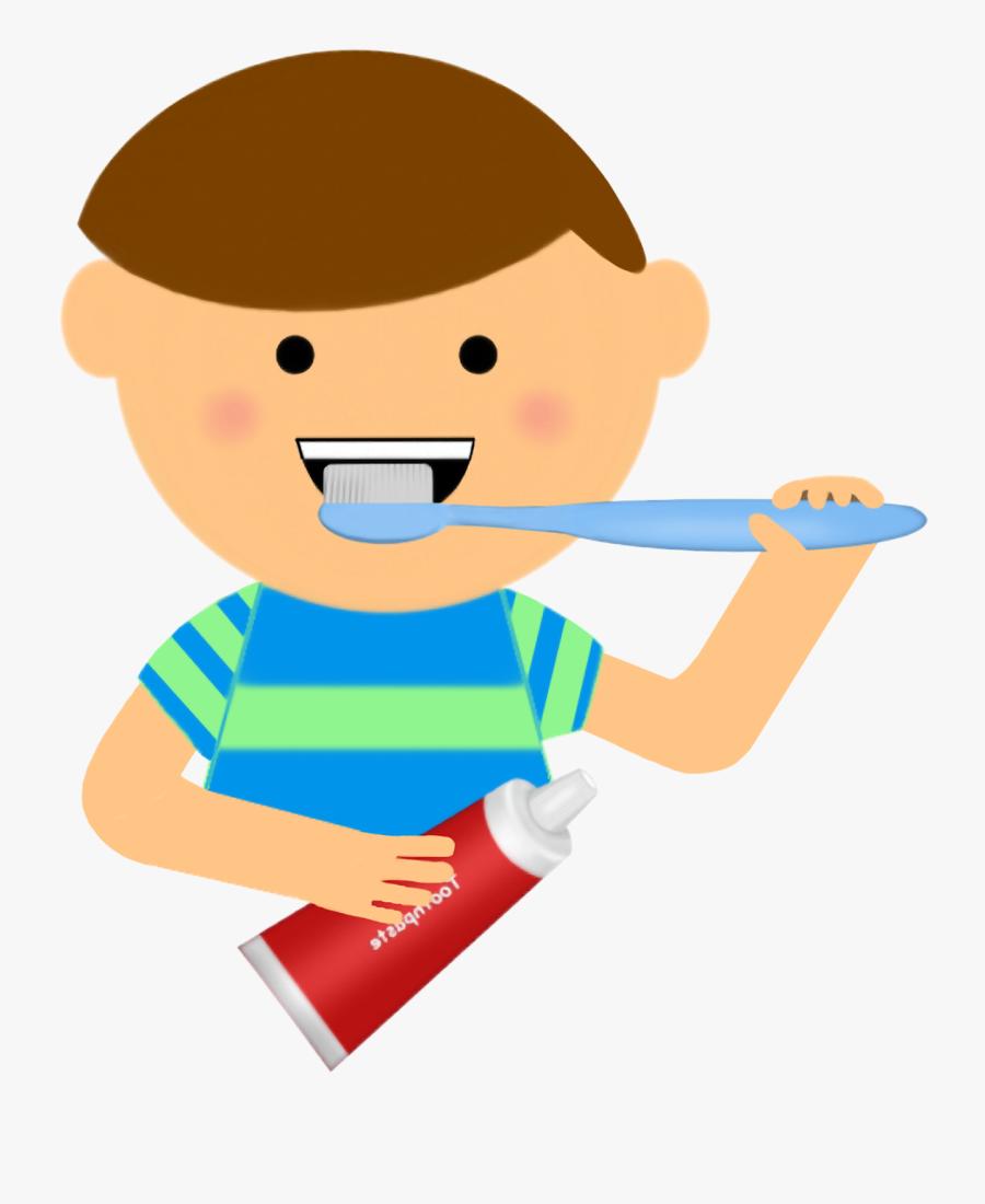 Brush Teeth Clipart Dental Health - Brushing Teeth Clipart, Transparent Clipart