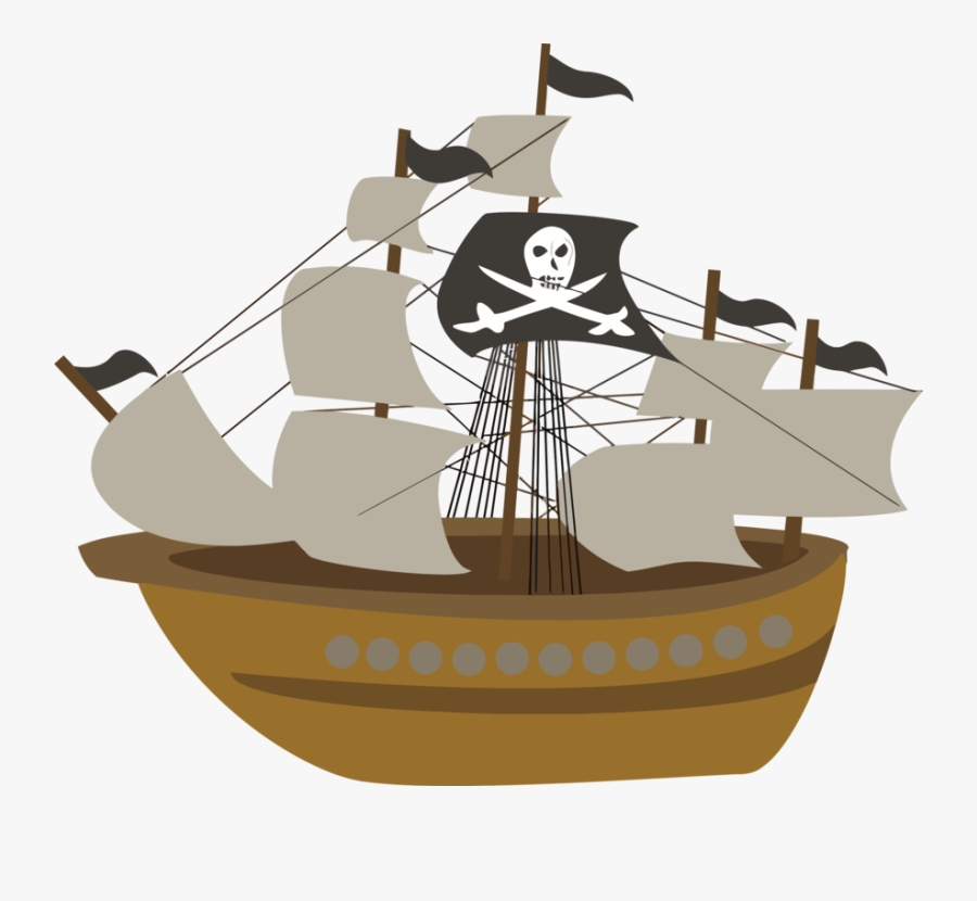 Pirate, Ship - - Transparent Background Pirate Ship Clip Art, Transparent Clipart