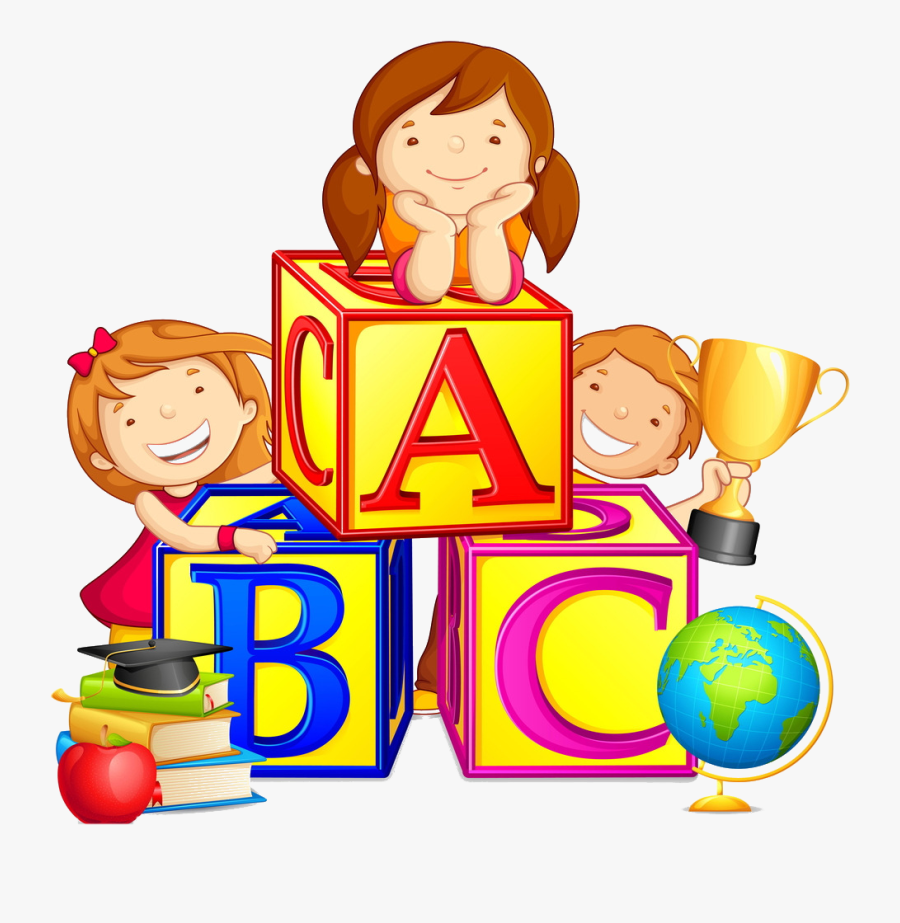Reading And Writing With Preschool And Primary Children - Preschool Children Clipart, Transparent Clipart