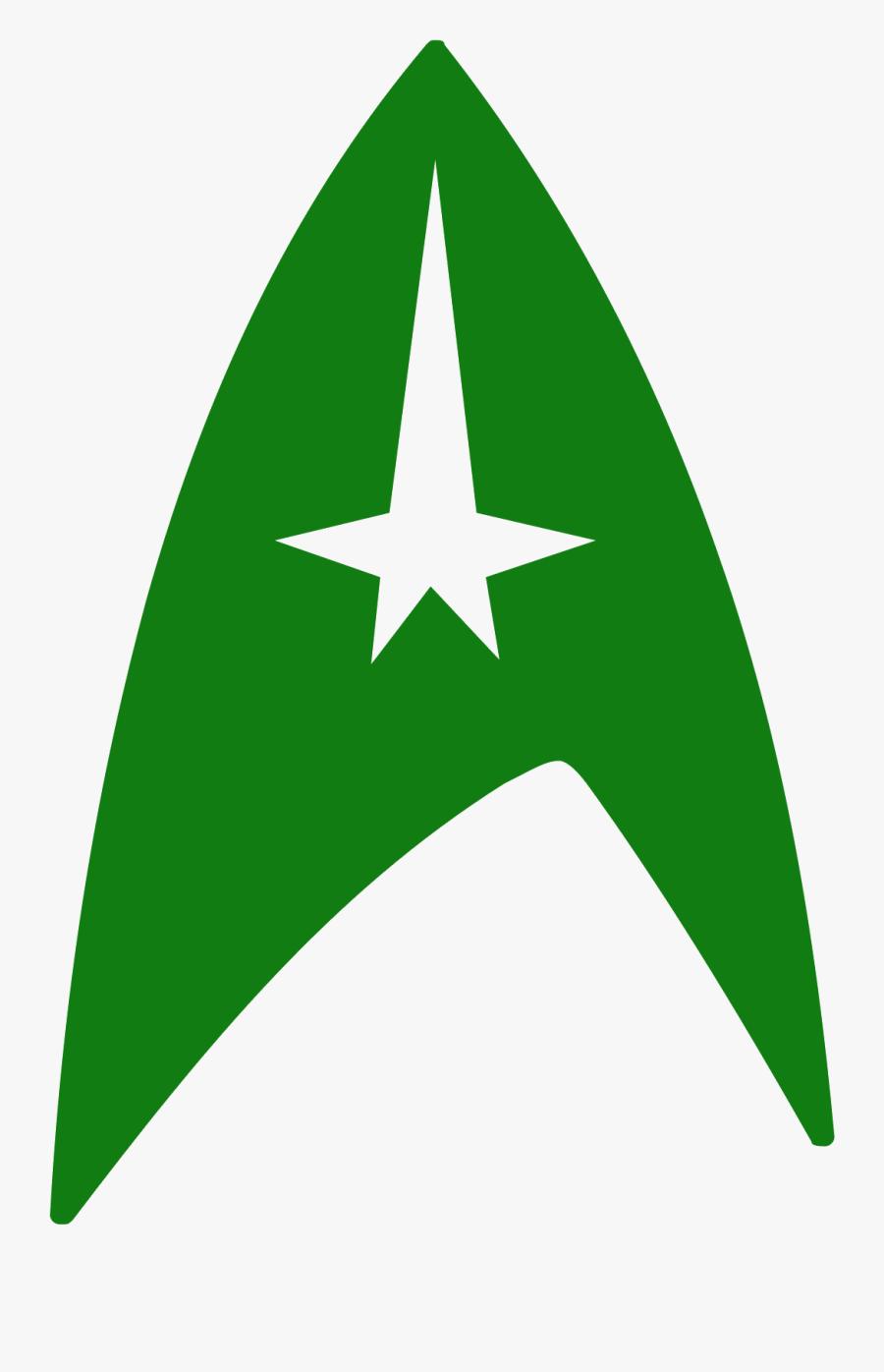 Star Trek Symbol Icon - Icon, Transparent Clipart
