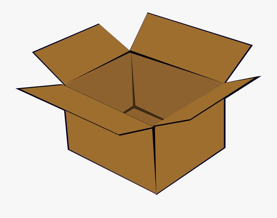 Box,square,angle - Cardboard Box, Transparent Clipart