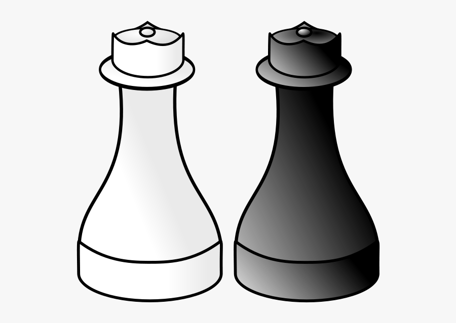Get Notified Of Exclusive Freebies - White And Black Queen Chess, Transparent Clipart