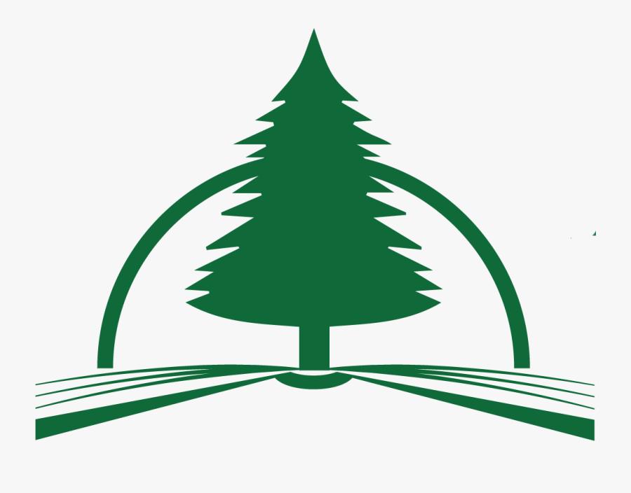 Evergreen Presbyterian Church - Christmas Tree, Transparent Clipart