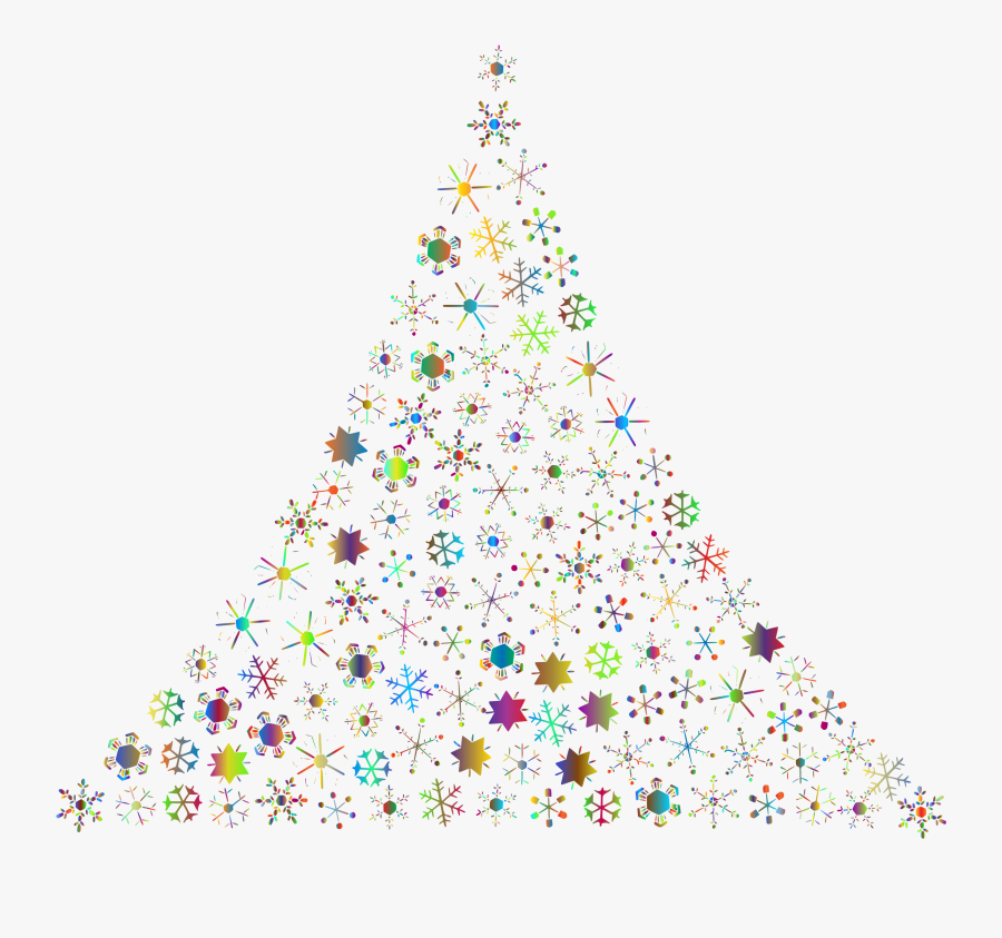 Thumb Image - Abstract Christmas Tree Vector Png, Transparent Clipart
