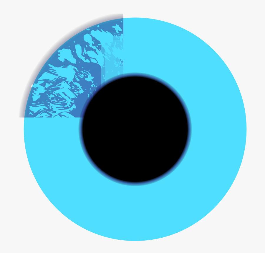Custom Blue Eye Ball Mugs - Circle, Transparent Clipart